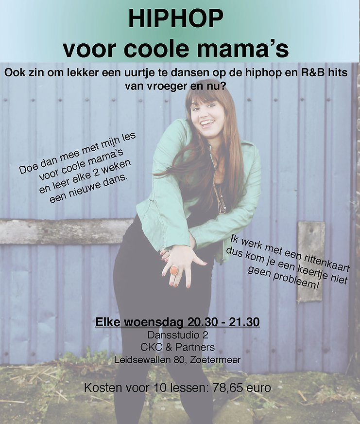 Hiphop voor coole mama's